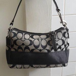 Coach Handbag Purse Black